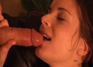 Daddy's cock is the hottest for her