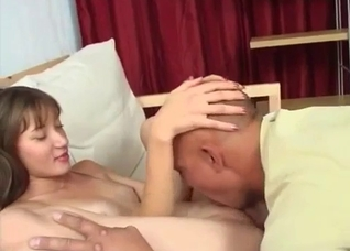 Father can't believe his daughter is so horny