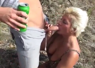 Mature mother becomes a sex slave