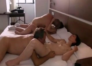 Amateur homemade incest orgy