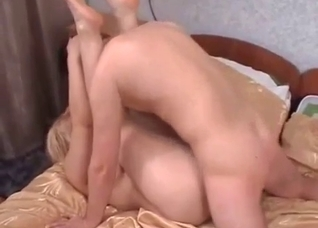 Chubby amateur mom being fucked doggy style