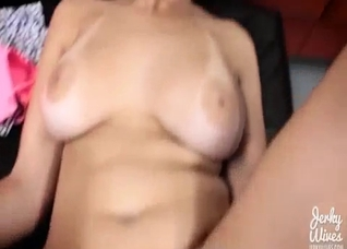 Busty mother's pussy taken for granted