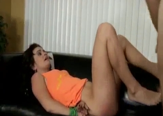 Good fuck after eating daughter's pussy