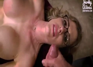 POV doggy style with naughty mom