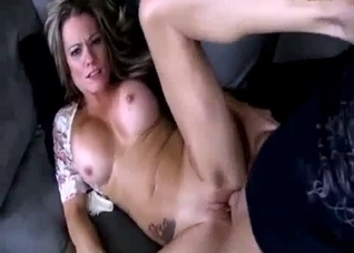 POV with a big tits MILF that wants son's rod