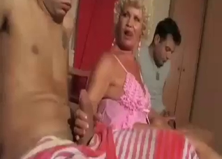 Beautiful mom is prone to anal