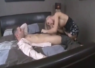 Epic stripper mom pleasing her son