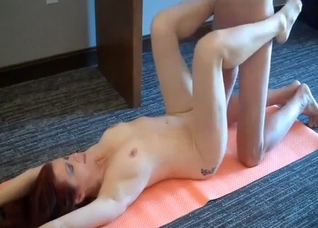 Amateur mother fucked by son on workout