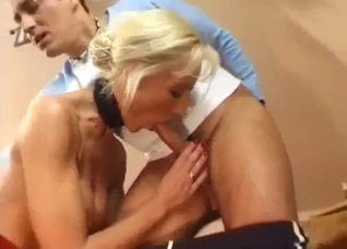 German mother is a slutty cock loving lady