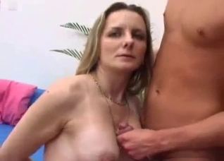 Fucking with a gorgeous mommy