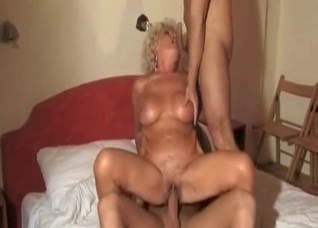 Granny being a great cum dumpster