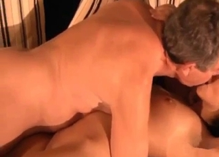 Daughter only lets her grandpa near her pussy